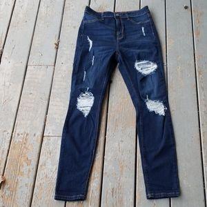 FASHION NOVA ripped jeans